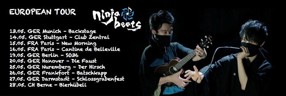 ninja beats | ウクレレ×ビートボックスで世界も魅了するパフォーマンス
