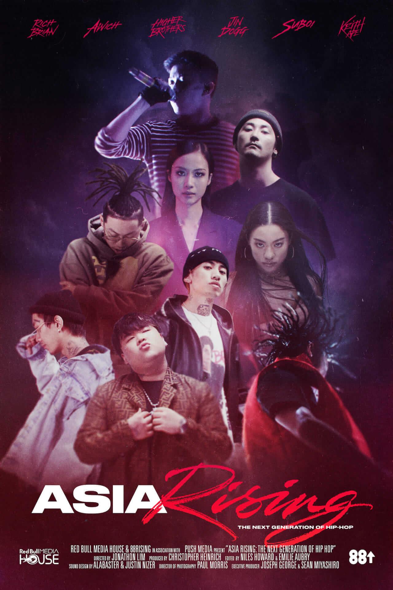 レッドブルと88rising共同製作ドキュメンタリー「Asia Rising – The Next Generation of Hip Hop」公開 ― Awich、Jin Doggも登場