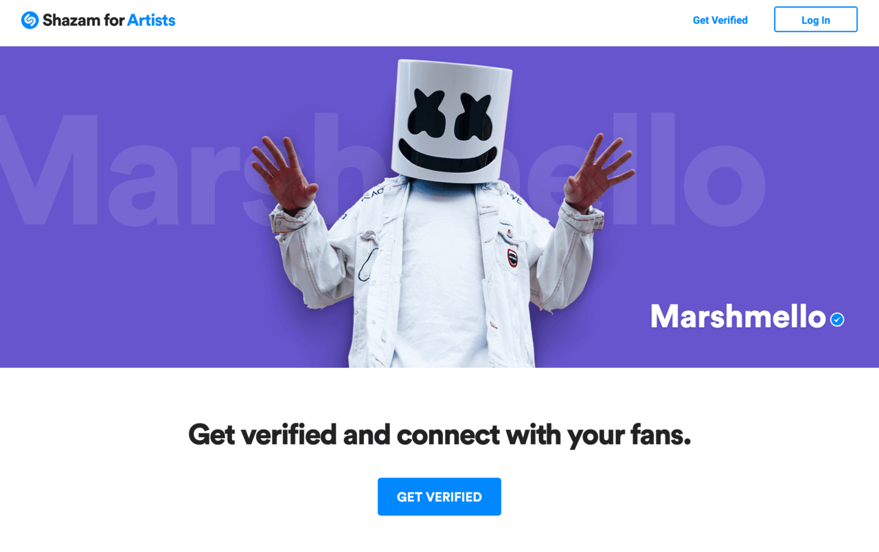 Shazam for Artists | 音楽認識アプリ Shazam でアーティスト自ら自分のページを編集するには