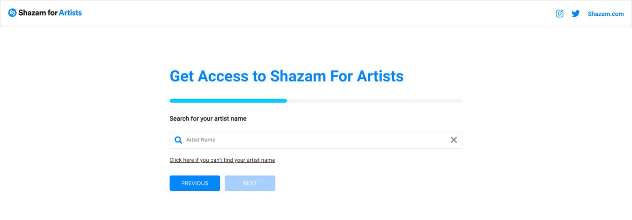 Shazam for Artists | 音楽認識アプリ Shazam でアーティスト自身で、自分のページを編集するには