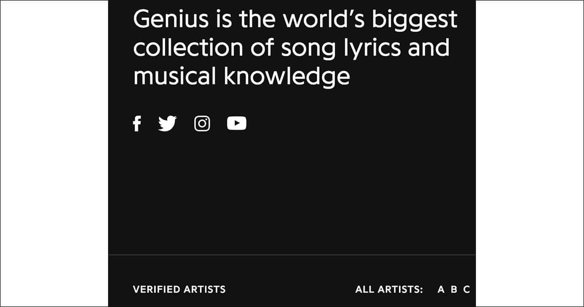 Geniusでアーティスト認証を受ける方法 ― 世界最大歌詞共有メディア Genius を活用し、歌詞からのアプローチで世界の音楽ファンへリーチする