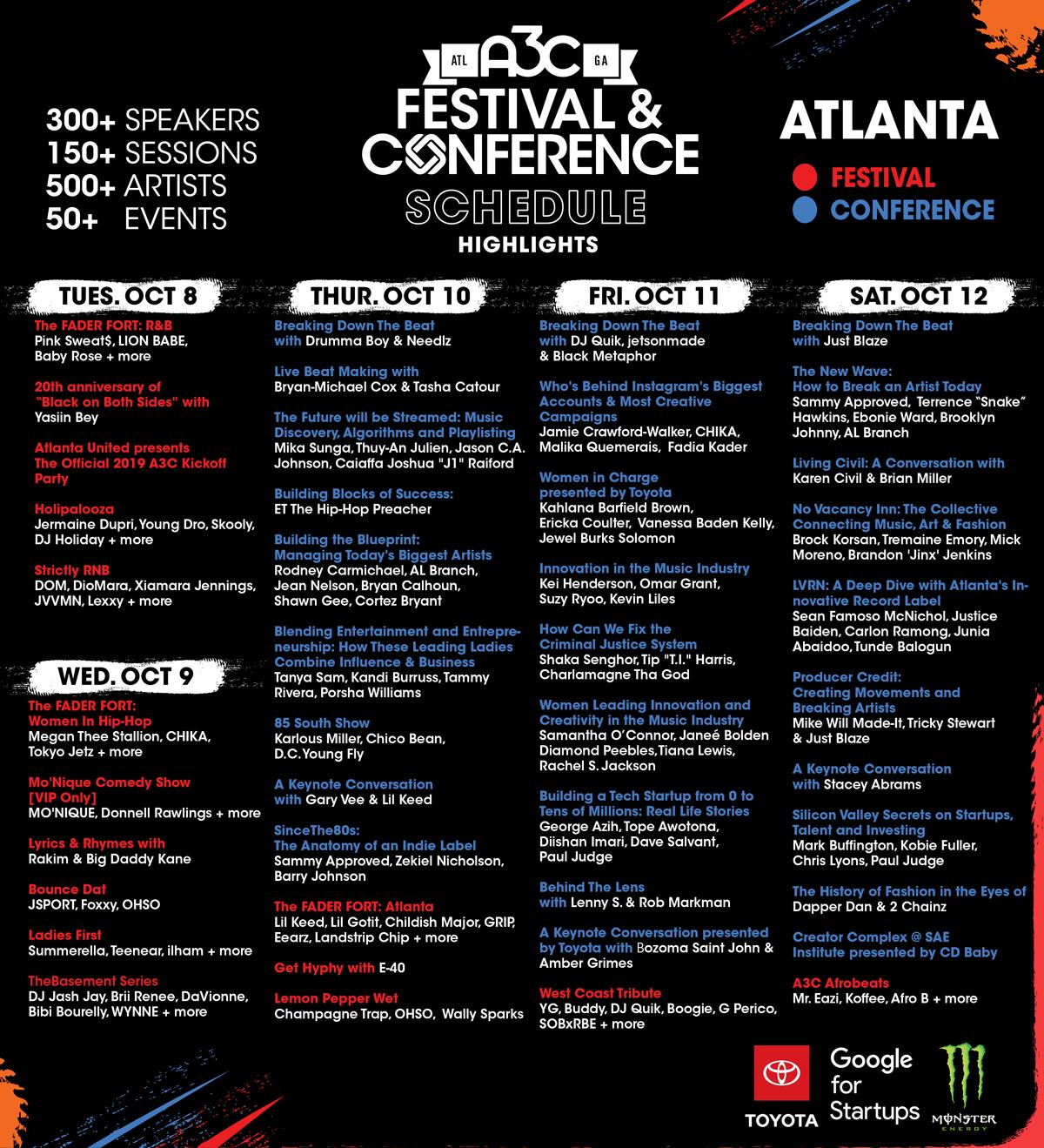 米アトランタに集結するヒップホップの祭典「A3C Festival 」国内初レポート