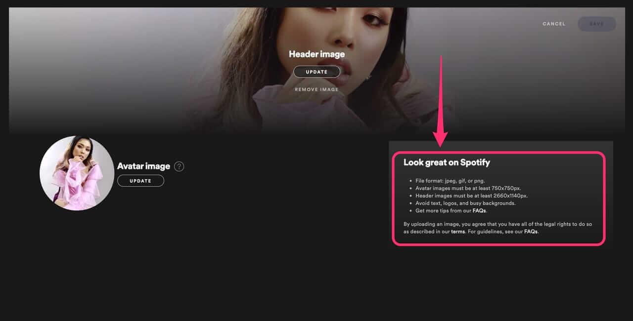 【Study & Practice】Spotify for Artistsでプロフィールを実際に変えてみよう