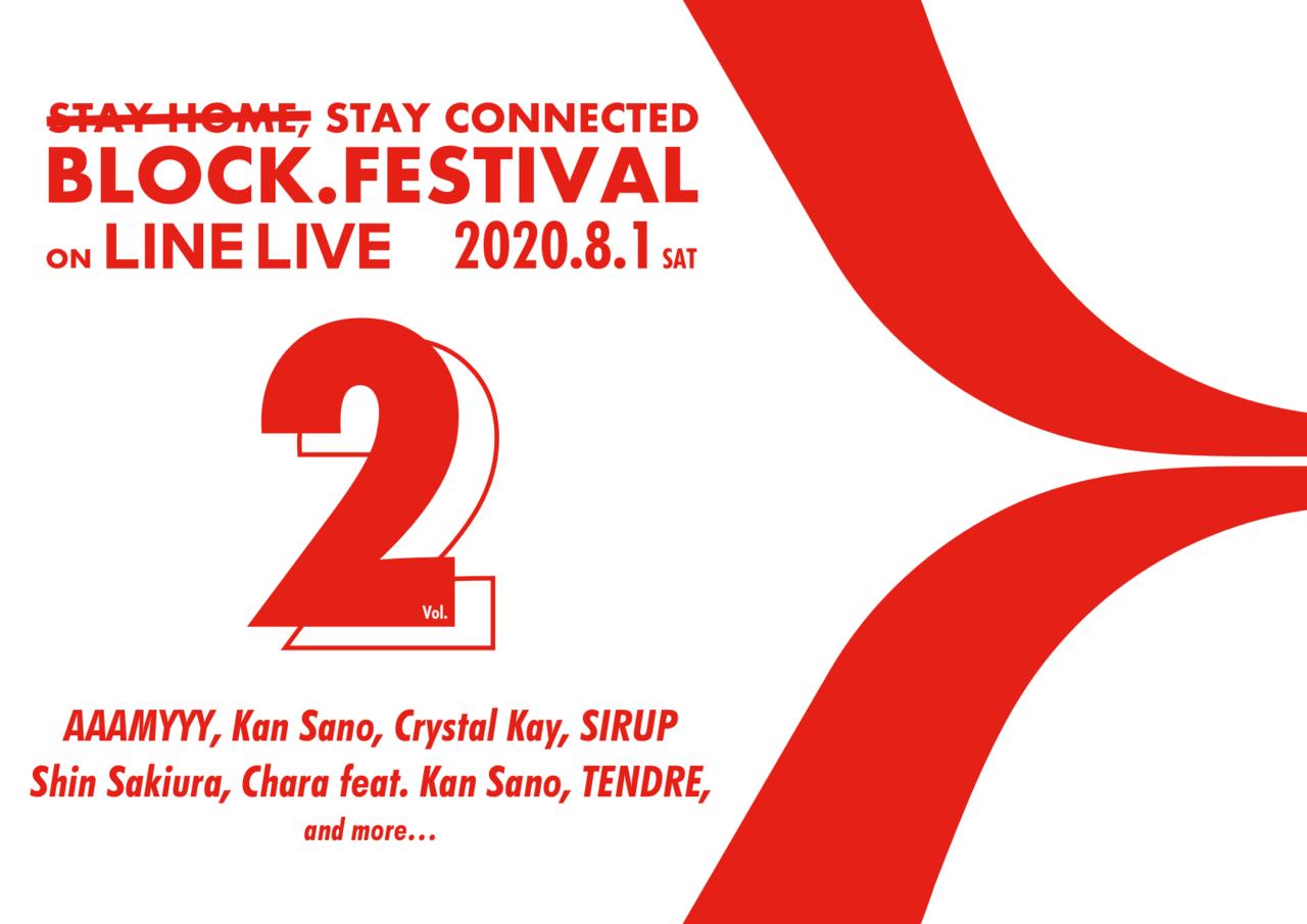 オンラインフェスの先駆け「BLOCK.FESTIVAL」、Vol.2開催