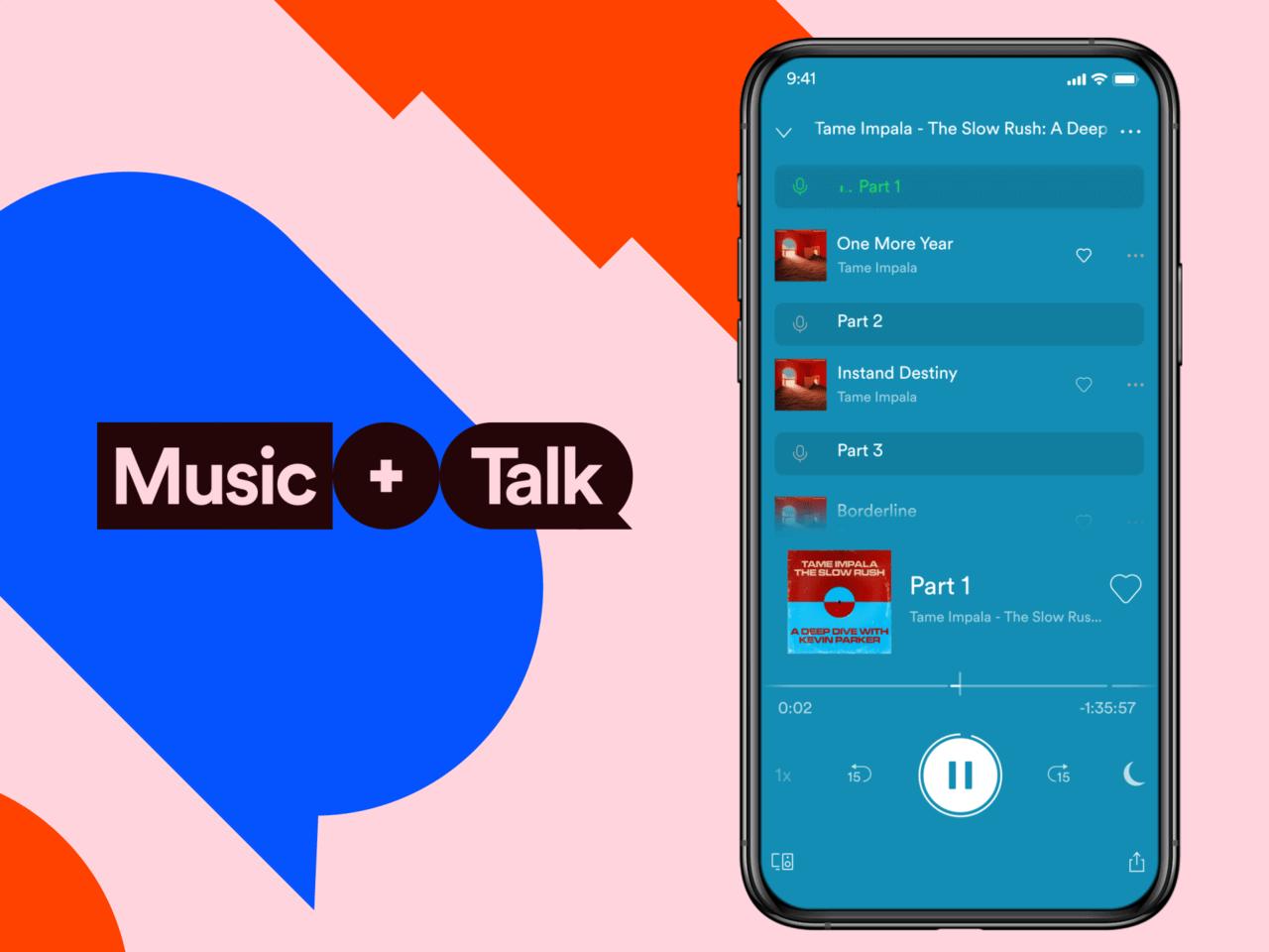 Spotify Music + Talk